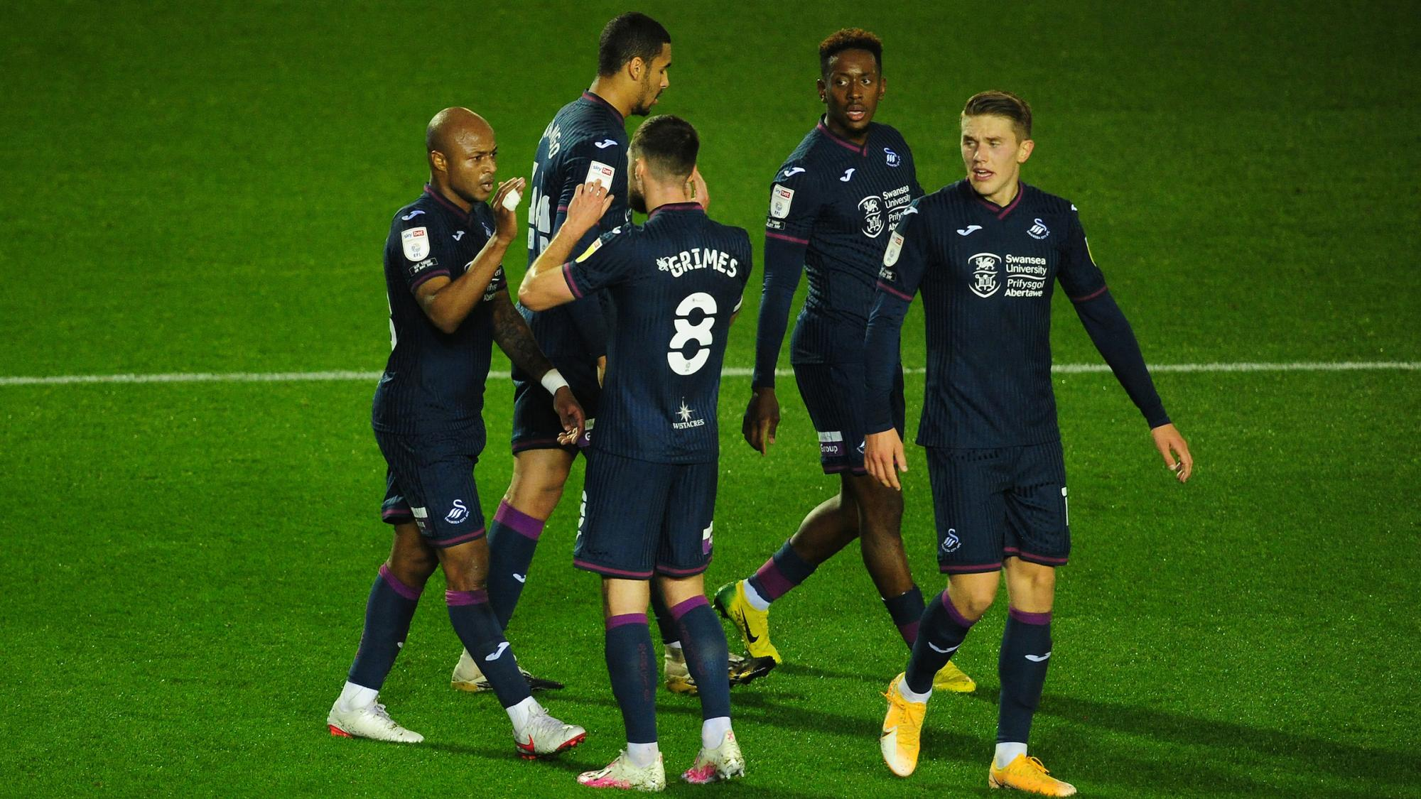 Steve Cooper lauds Andre Ayew as Swansea snatch point at Coventry