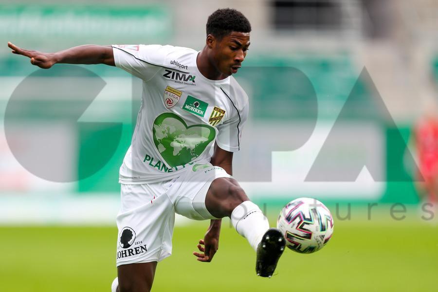 Winger Anoff Blankson enjoy minutes in Austria Lustenau's win at Rapid Wien II