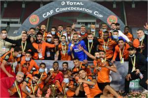 John Antwi's Pyramids loses Caf Confederations Cup finals to Berkane