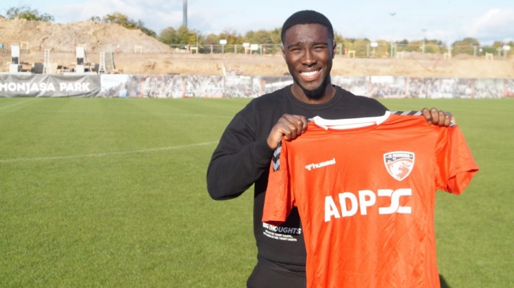 Ghanaian forward Justin Shaibu signs for FC Fredericia