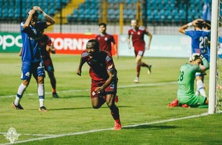 Striker John Antwi's Pyramids close to lifting Confed Cup and realising 15-month dream