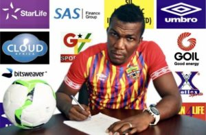 I want to lead Black Stars to end 39 years Afcon trophy drought - Sluggish Hearts of Oak striker Abednego Tetteh