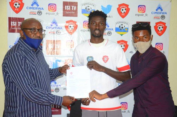 Rwandan side Espoir complete signing of Ghanaian international Sulley Sadick