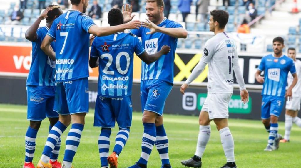 Osman Bukari's solitary strike powers KAA Gent to victory against Sporting Charleroi