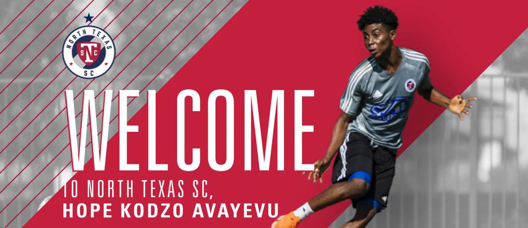Hope Kodzo Avayevu joins North Texas SC