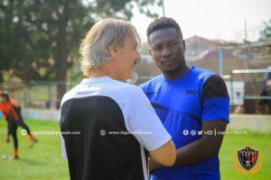 Asamoah Gyan's return to Ghana Premier League is a blessing, says Aduana Stars striker Yahaya Mohammed