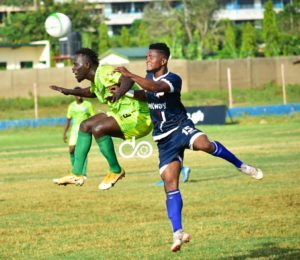 20/21 Ghana Premier League: Liberty Professionals share spoils with Bechem United in Dansoman