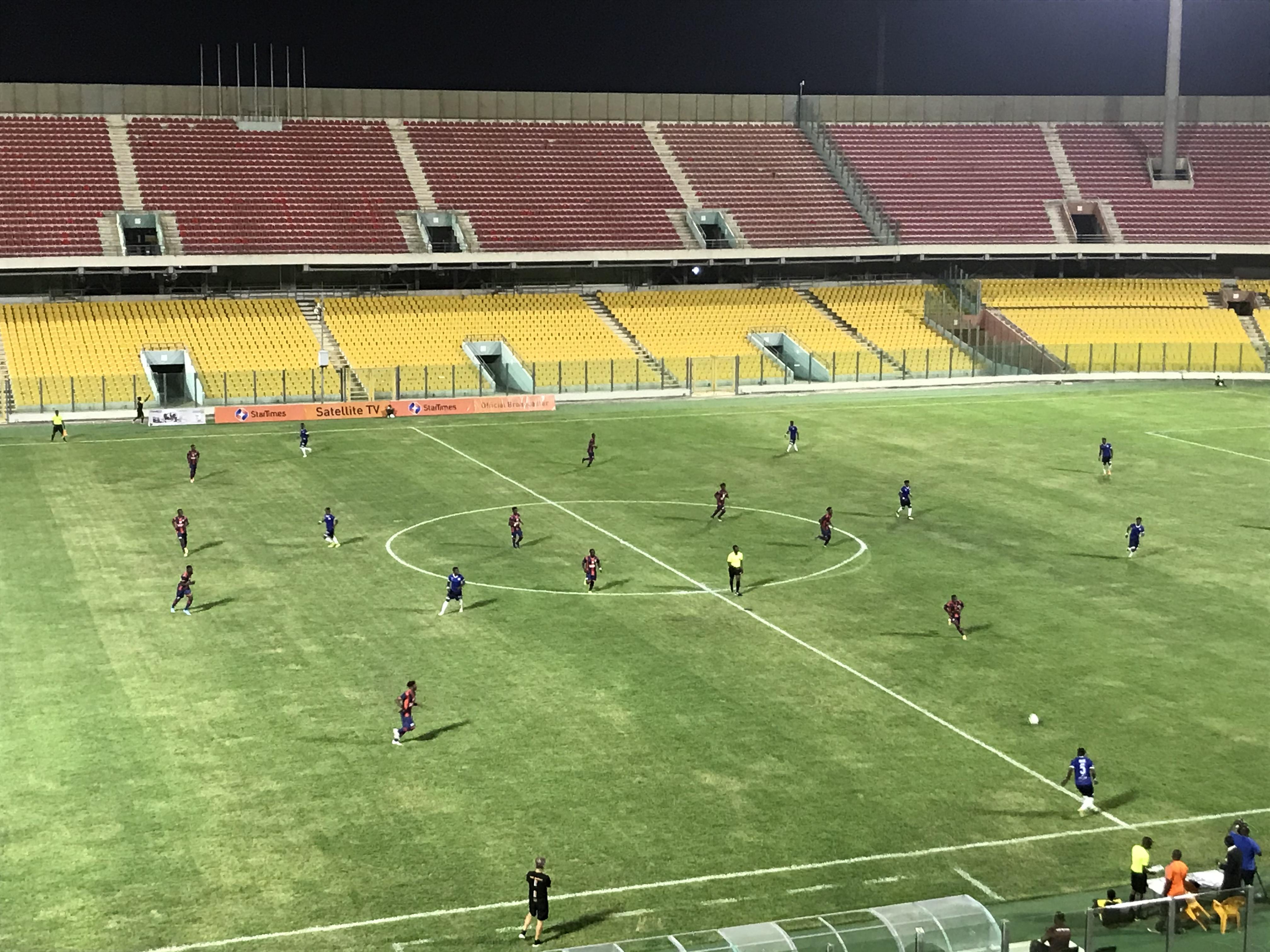 LIVE UPDATES: Legon Cities FC 1-1 Berekum Chelsea – Ghana Premier League Matchday 1