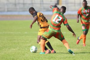 VIDEO: Ashanti Gold draw goalless with Salitas in CAF Confederation Cup
