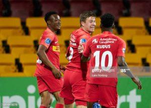 Isaac Atanga hits brace to inspire FC Nordsjaelland to beat AGF 3-1