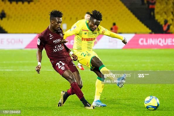 John Boye impress for FC Metz in draw against Nantes