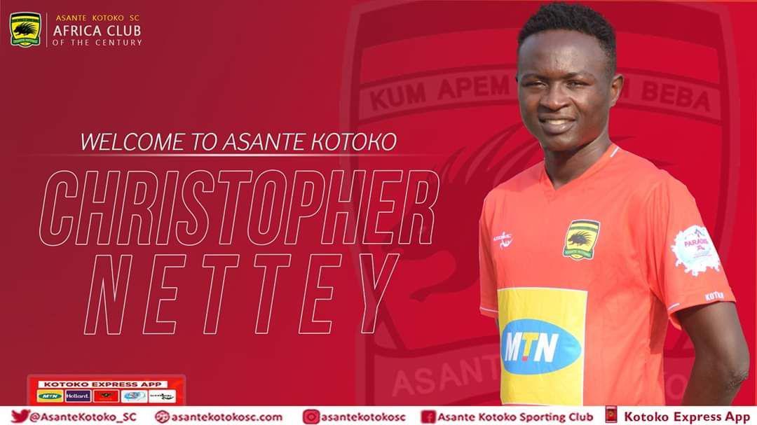 Kotoko settle Christopher Nettey's transfer fee