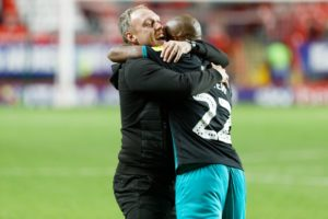 We are grateful Andre Ayew is fit again – Swansea manager Steve Cooper