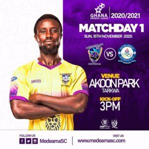 2021 Ghana Premier League: Medeama SC vs Great Olympics matchday 1 preview