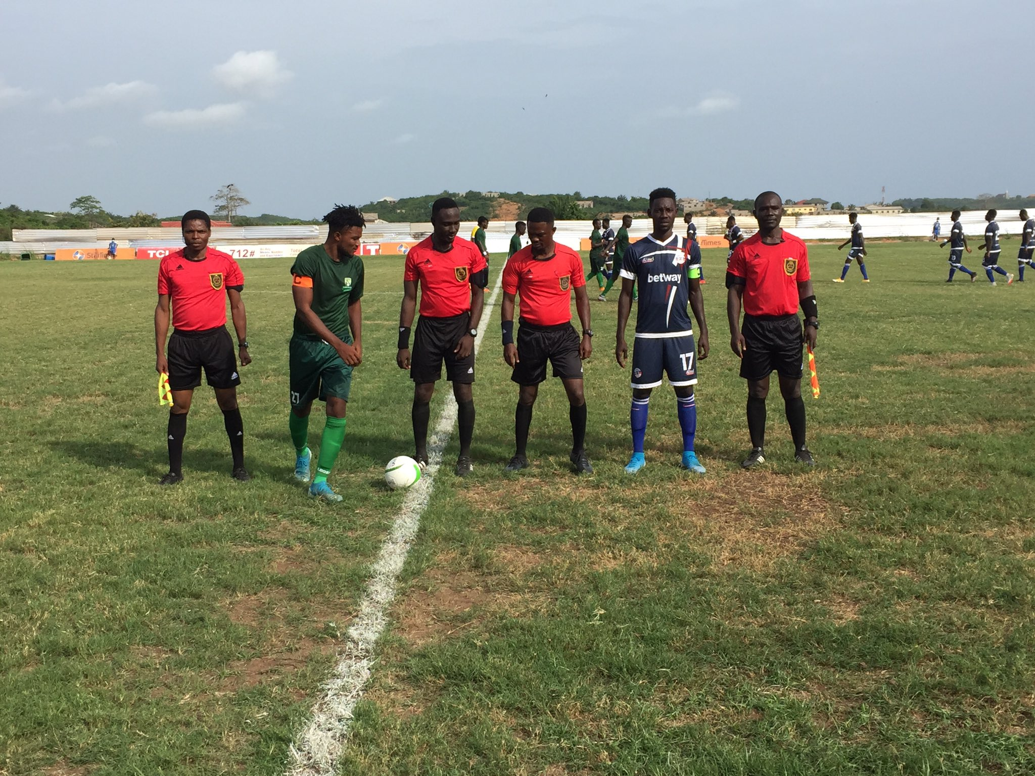 20/21 Ghana Premier League: Liberty fight back to earn a draw at Elmina Sharks