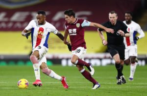 Jordan Ayew, Jeffrey Schlupp feature for Crystal Palace in defeat at Burnley