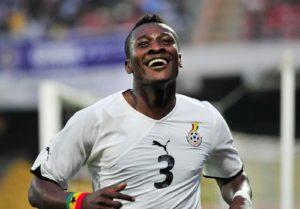 Legon Cities striker Asamoah Gyan eyes Black Stars return