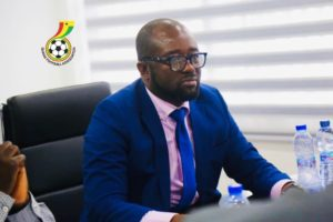 GFA boss Kurt Okraku files to contest for CAF Exco position