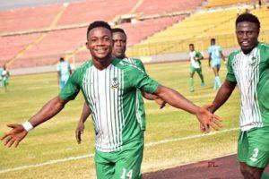 King Faisal forward Kwame Peprah set sights on beating Aduana Stars on Sunday