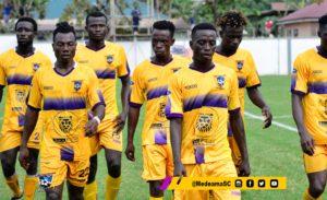 Medeama head coach Samuel Boadu names starting eleven for Legon Cities clash