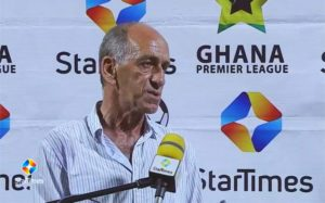 2020/21 Ghana Premier League: Milovan Cirkovic can steer Ashgold to annex league title - CEO Emmanuel Frimpong