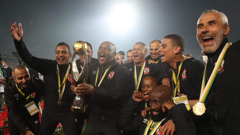 FEATURE: Mosimane – Writing history, yet again