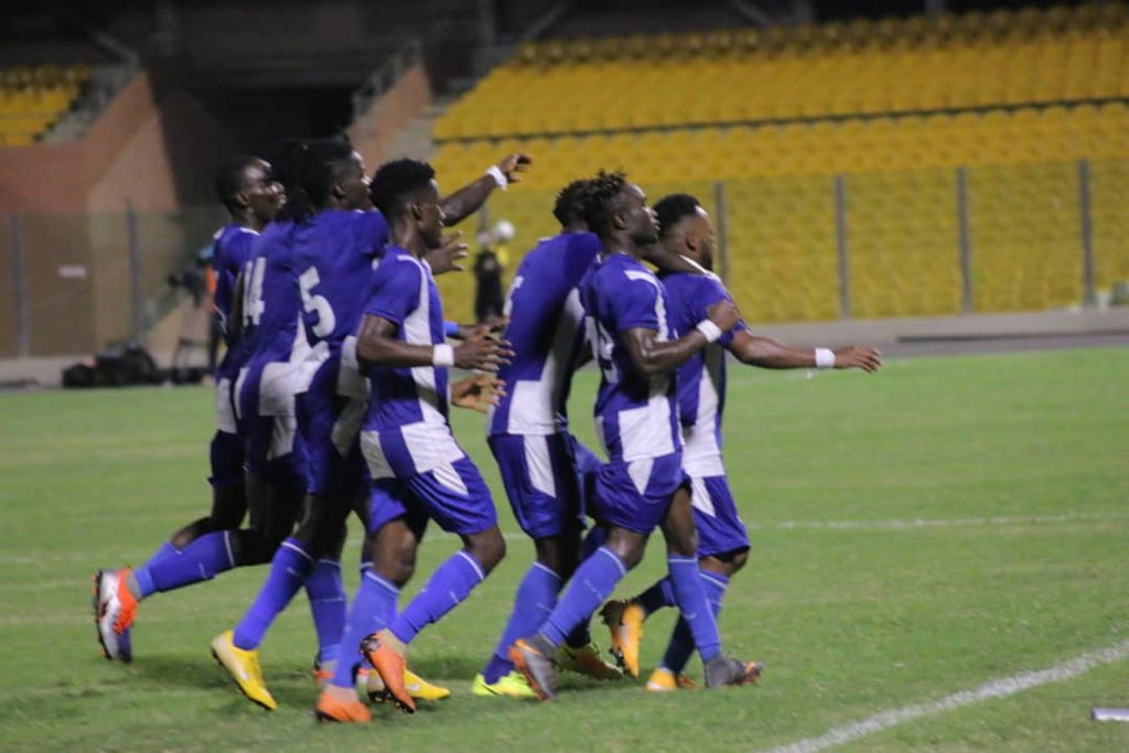 20/21 Ghana Premier League: Great Olympics batter Legon Cities FC to bag first 3 points