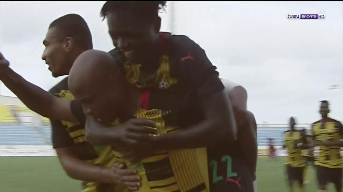 CAF shortlist Andre Ayew's strike against Sudan among best goals scored in the international break