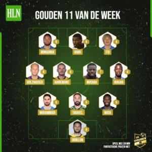 Ghanaian forward Osman Bukari named in Belgian Jupiler Pro League team of the week