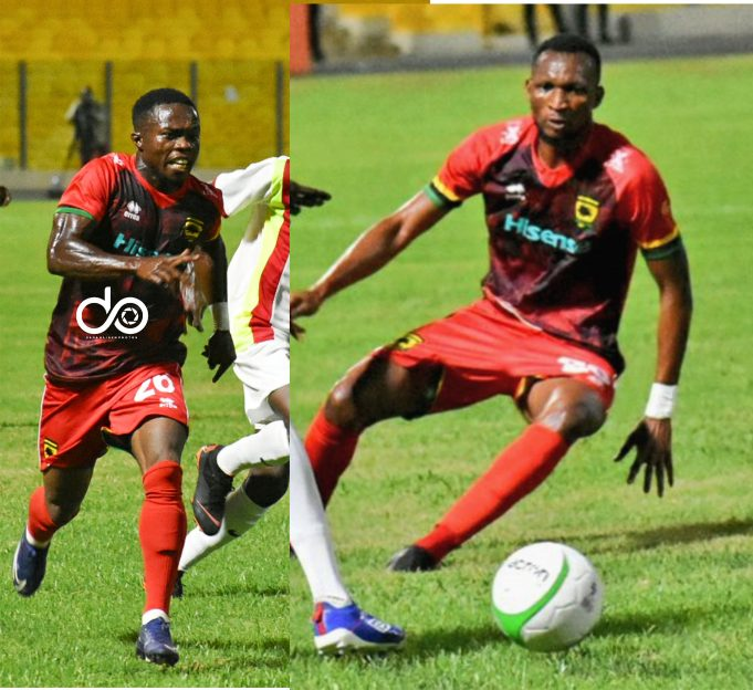 2021 Ghana Premier League: Asante Kotoko duo Okrah and Anabila set to miss Berekum Chelsea clash