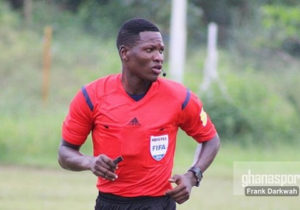 Ghana referee Daniel Laryea selected for CHAN tournament in Cameroon