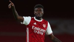 Arsenal midfielder Thomas Partey set to undergo another scan this week ahead of North London derby