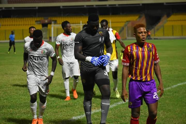 Hearts of Oak defender Larry Sumaila expresses disappointment after Karela United draw