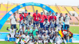 Unity in camp helped us to win WAFU Zone B U-20 Cup - Black Satellites talisman Percious Boah