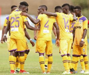 20/21 Ghana Premier League: Substitutive Agyenim Boateng scores to hand Medeama SC win over Dwarfs