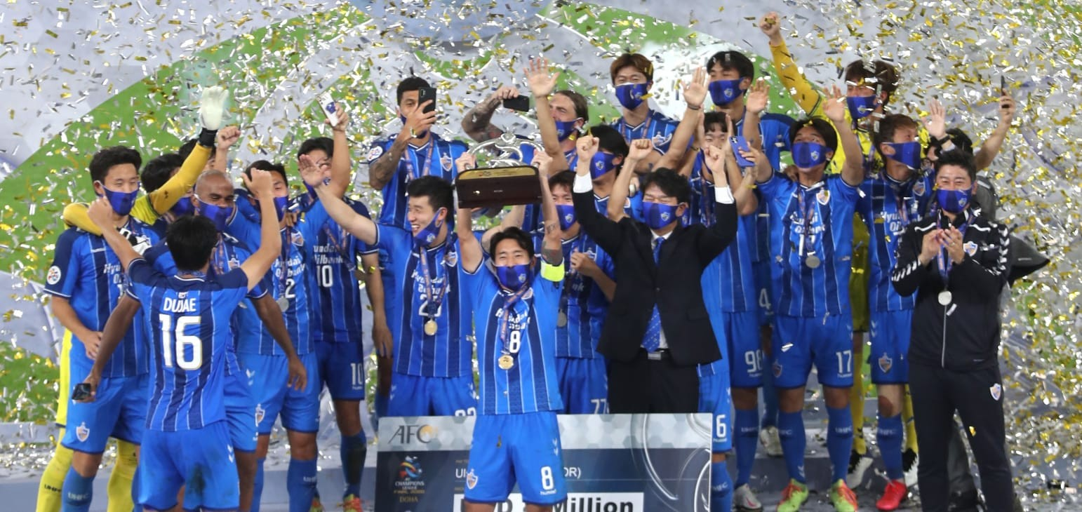 Ulsan Hyundai lift AFC Champions League trophy with come from behind win over Persepolis  | Football | News | AFC Champions League 2020