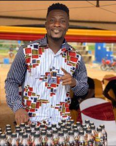 Asamoah Gyan named brand ambassador for Run energy drink vit3 fire edition