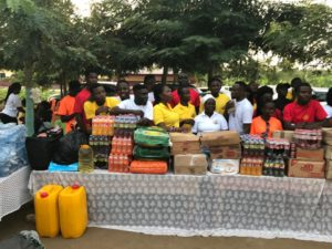 Ghana winger Bernard Tekpetey makes donation to Royal Seed orphanage