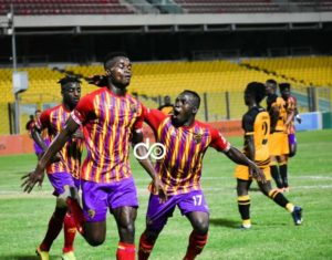 Kwadwo Obeng Jnr keen on helping Hearts of Oak win GPL title