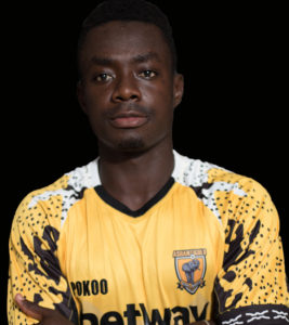 CAF Confederation Cup: Ashanti Gold skipper Amos Addai confident of sealing qualification against Salitas FC