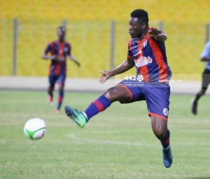 Legon Cities striker Asamoah Gyan eyes victory against Dreams FC