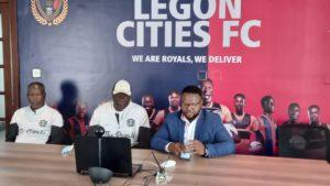 With hard work Legon Cities FC will improve - Coach Bashir Hayford