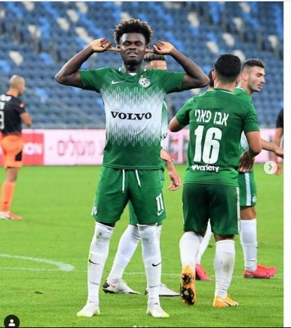 Godsway Donyoh is an excellent forward- Maccabi Haifa coach Barak Bakhar