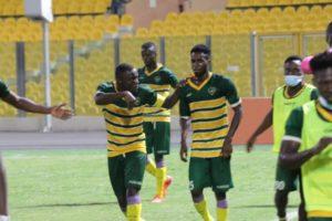 20/21 Ghana Premier League: Prince Acquah's brace power Ebusua Dwarfs to 2-1 win against Legon Cities FC