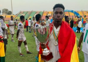 Our main target is to secure qualification to World Cup - Black Satellites forward Emmanuel Duah