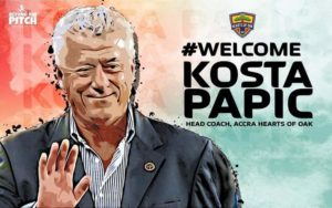 Kosta Papic: Hearts new coach facing tough test from Karela Utd as first game in charge