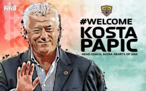 Official: Kosta Papic reappointed as Hearts of Oak head coach