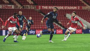 Andre Ayew features for Swansea City in narrow defeat at Middlesbrough