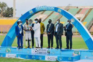 Hearts congratulate Afriyie Barnieh after winning WAFU Cup with Ghana U-20