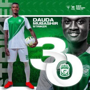 Division One side Bofoakwa Tano complete signing of highly-rated youngster Dauda Mubashir